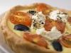 Dinkelquiche mit Oliven und Tomaten
