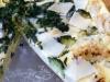 Dinkelquiche mit Parmesan, Bärlauch, Broccoli
