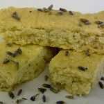Naschmarktpremiere: Lavendel-Dinkel-Shortbread