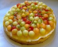 Melonentraum-Kuchen